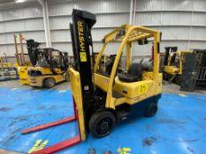 Hyster Forklift, Model S60FT, S/N H187V06608P, Year 2016, 5700 lb capacity