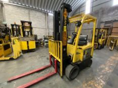 Hyster Electric Forklift, Model E50XN, S/N A268N20176P, Year 2016, 4750 lb capacity