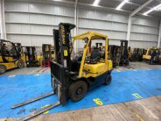 Hyster Forklift, Model H2.5XT, S/N D466R03085P, Year 2016, 5000 lb capacity
