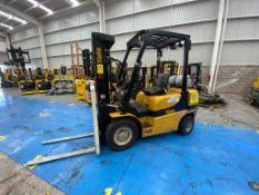 Yale Forklift, Model GP050MX, S/N A390V07349S, Year 2018, 4800 lb capacity
