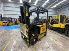 Yale Electric Forklift, Model ERC060VGN36TE088, S/N A968N17882R, Year 2017, 5800 lb capacity