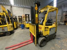 Hyster Electric Forklift, Model E50XN, S/N A268N20257P, Year 2016, 4750 lb capacity
