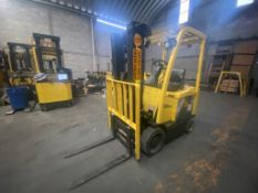 Hyster Electric Forklift, Model E50XN, S/N A268N20402P, Year 2016, 4700 lb capacity