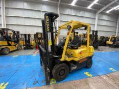 Hyster Forklift, Model H2.5XT, S/N D466R03286P, Year 2016, 5000 lb capacity