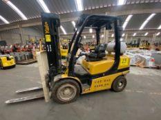 Yale Forklift, Model GLP060VXNDAE087, S/N D875V07980R, Year 2017, 5700 lb capacity
