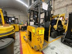 Yale Electric Forklift, Model NDR035EANL36TE157, S/N C861N02186F, Year 2008, 3500 lb capacity