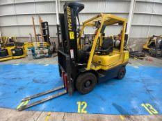 Hyster Forklift, Model H2.5XT, S/N D466R03069P, Year 2016, 5000 lb capacity