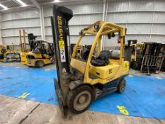 Hyster Forklift, Model H60FT, S/N P177V06455P, Year 2016, 5750 lb capacity