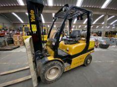 Yale Forklift, Model GLP060VXNDAE087, S/N D875V07977R, Year 2017, 5700 lb capacity