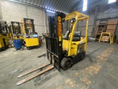 Hyster Electric Forklift, Model E50XN, S/N A268N20389P, Year 2016, 4700 lb capacity