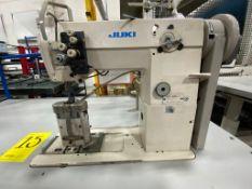 Juki Pole Sewing Machine of two needles, model PLC-1660-7, Serie number PLCFJ03413