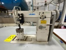 Juki Pole Sewing Machine of two needles, model PLC-1660-7, Serie number 3P0XG01371
