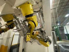Fanuc articulated Robot, model ARC Mate 120iB, type A05B-1216-B201, Serie number, R04476427