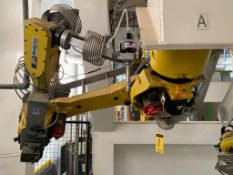 Fanuc articulated Robot, model M-16iB/20, type A05B-1216-B202, Serie number, R04Z76874