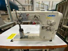 Juki Pole Sewing Machine of one needle, model PLC-2710-7, Serie number 2P0HC00025