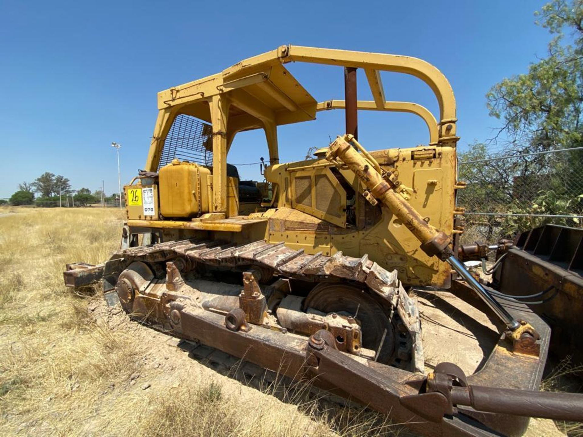 Caterpillar D7G Bulldozer, Serial number 92V5897, Diesel motor - Image 15 of 48
