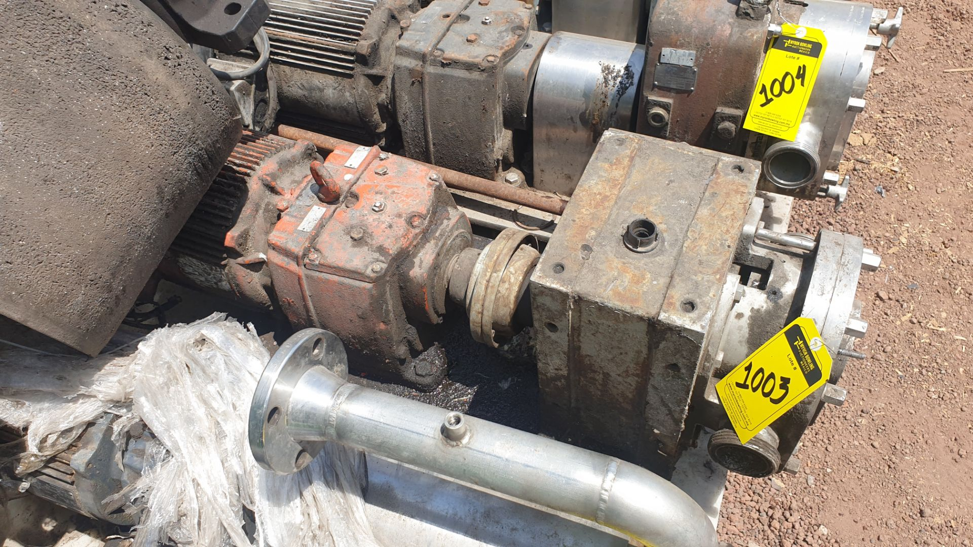 Fristam Lobe pump, includes emerson motor capacity 15HP 230v -460v - Image 5 of 6