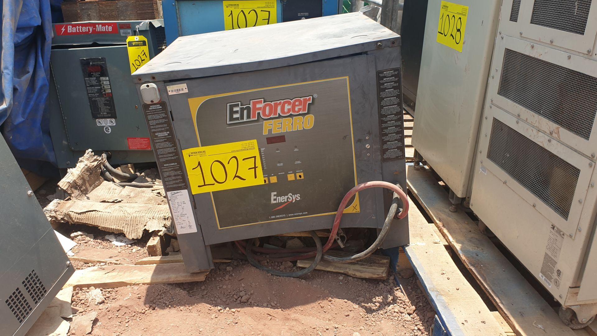 1 Battery-Mate charger, model 1050H3-18C 208/240/480V, 1 Mexide charger model CAS18.3.700 - Image 8 of 9