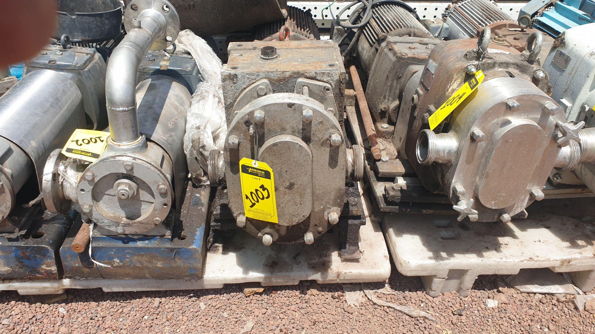 Fristam Lobe pump, includes emerson motor capacity 15HP 230v -460v - Image 2 of 6