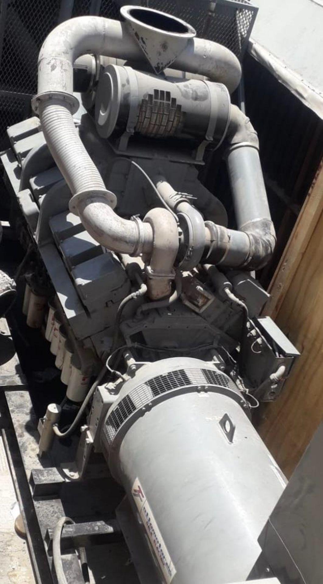 Ottomotores Emergency Plant capacity 1133 KW/1416 KVA, voltage 2020/440 - Image 3 of 4