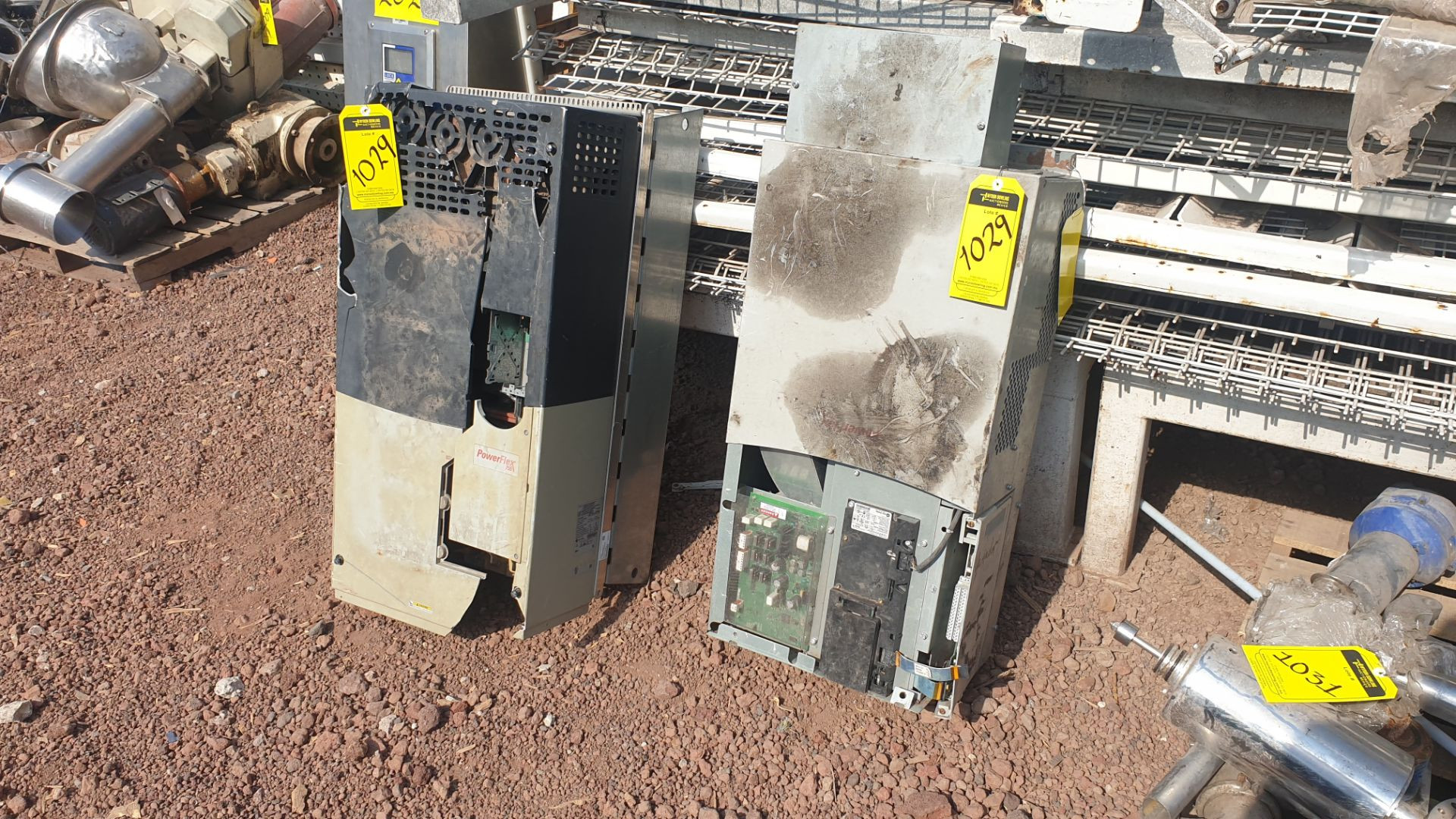 2 Powerflex Variator boards, model 20G1AN, 20BD180A0AYNANC0 - Image 2 of 13