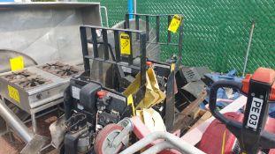 2 HYSTER lift pallet truck model W45ZHD 24 V , 1 DAYTON lift pallet truck model 21XV82
