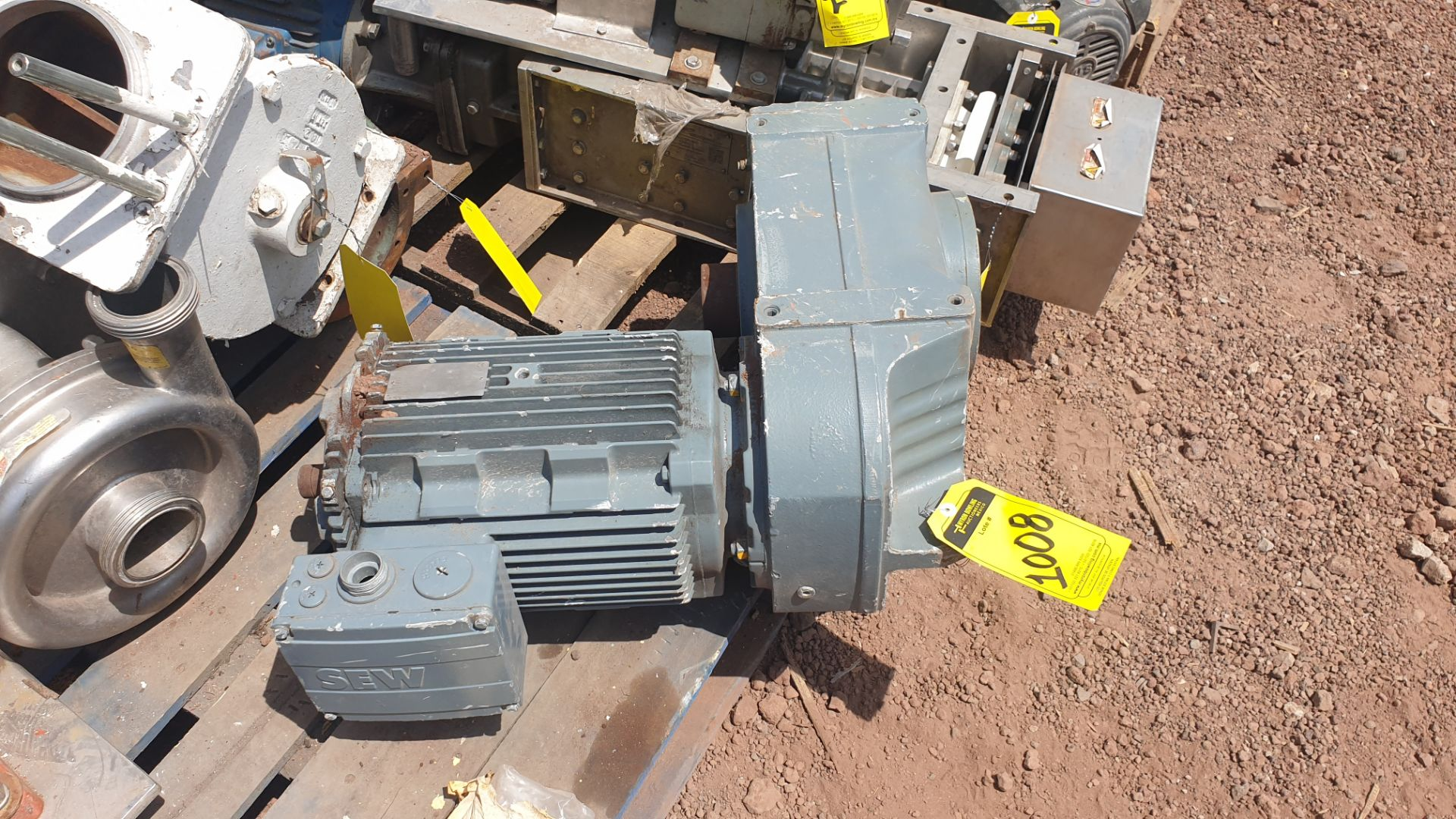 1 ABB motor without plate, 1 ABB motor model M2AA160M2 15KW - Image 8 of 15