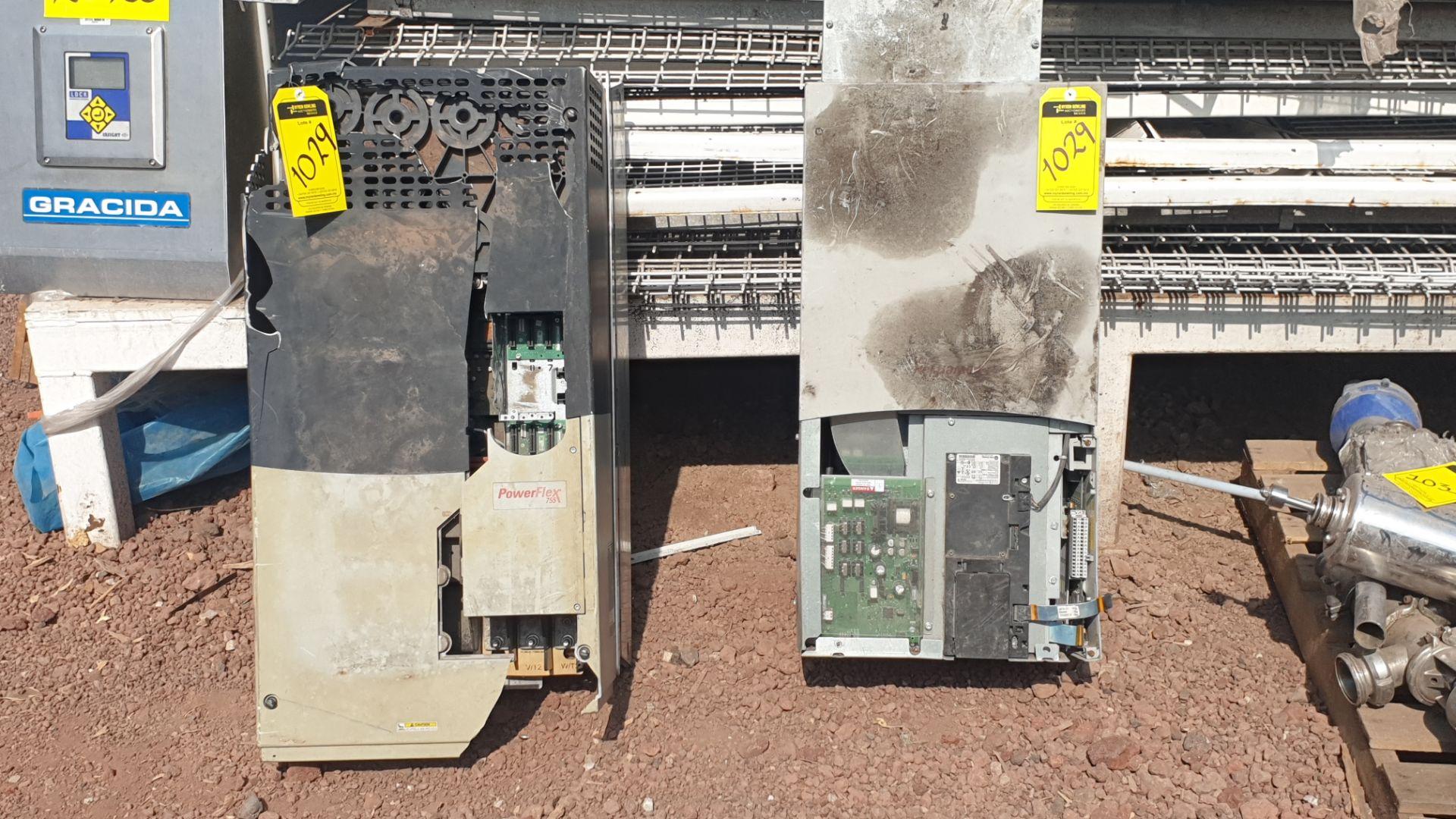 2 Powerflex Variator boards, model 20G1AN, 20BD180A0AYNANC0 - Image 8 of 13