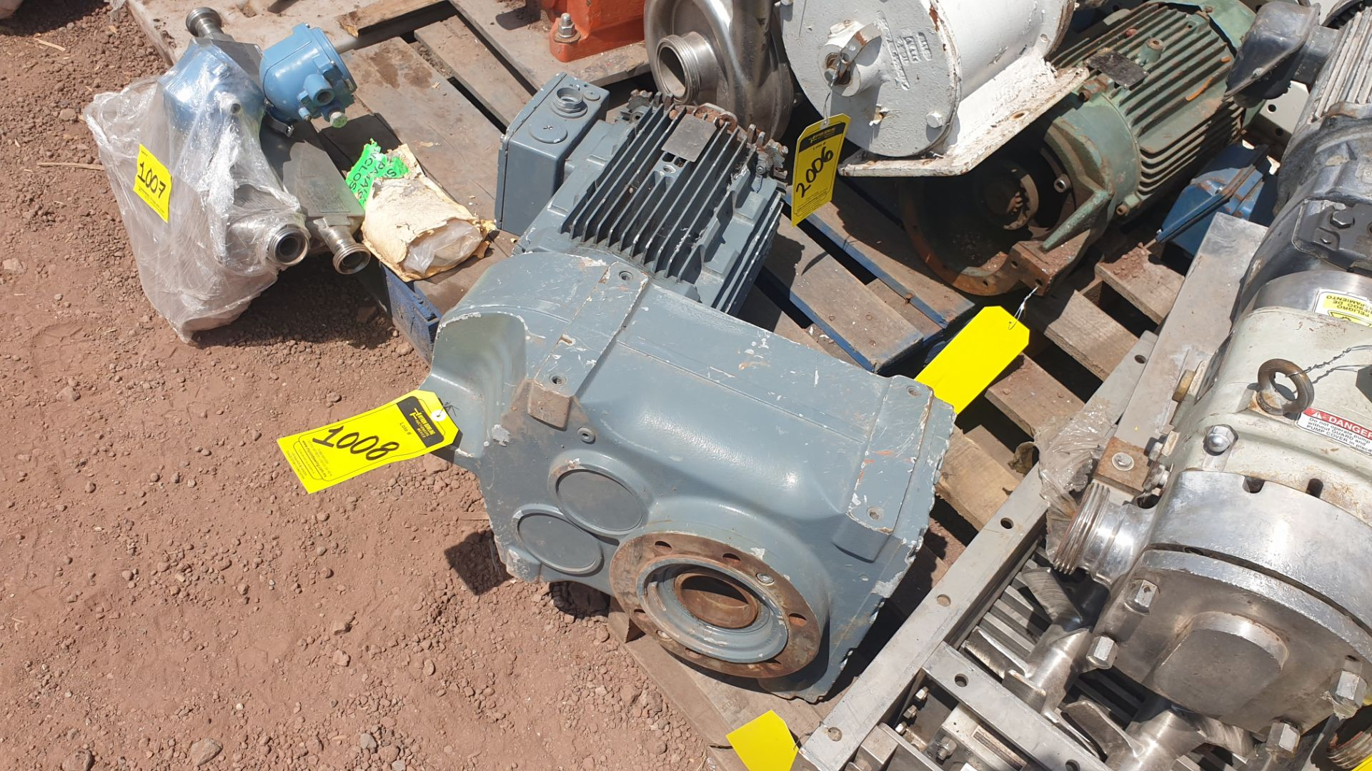 1 ABB motor without plate, 1 ABB motor model M2AA160M2 15KW - Image 11 of 15