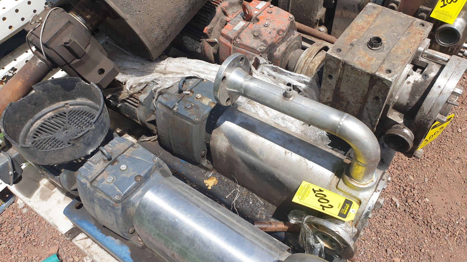 Pneumatic pump, includes emerson motor, model 684982 capacity 10Hp 230v - 460v - Image 7 of 8