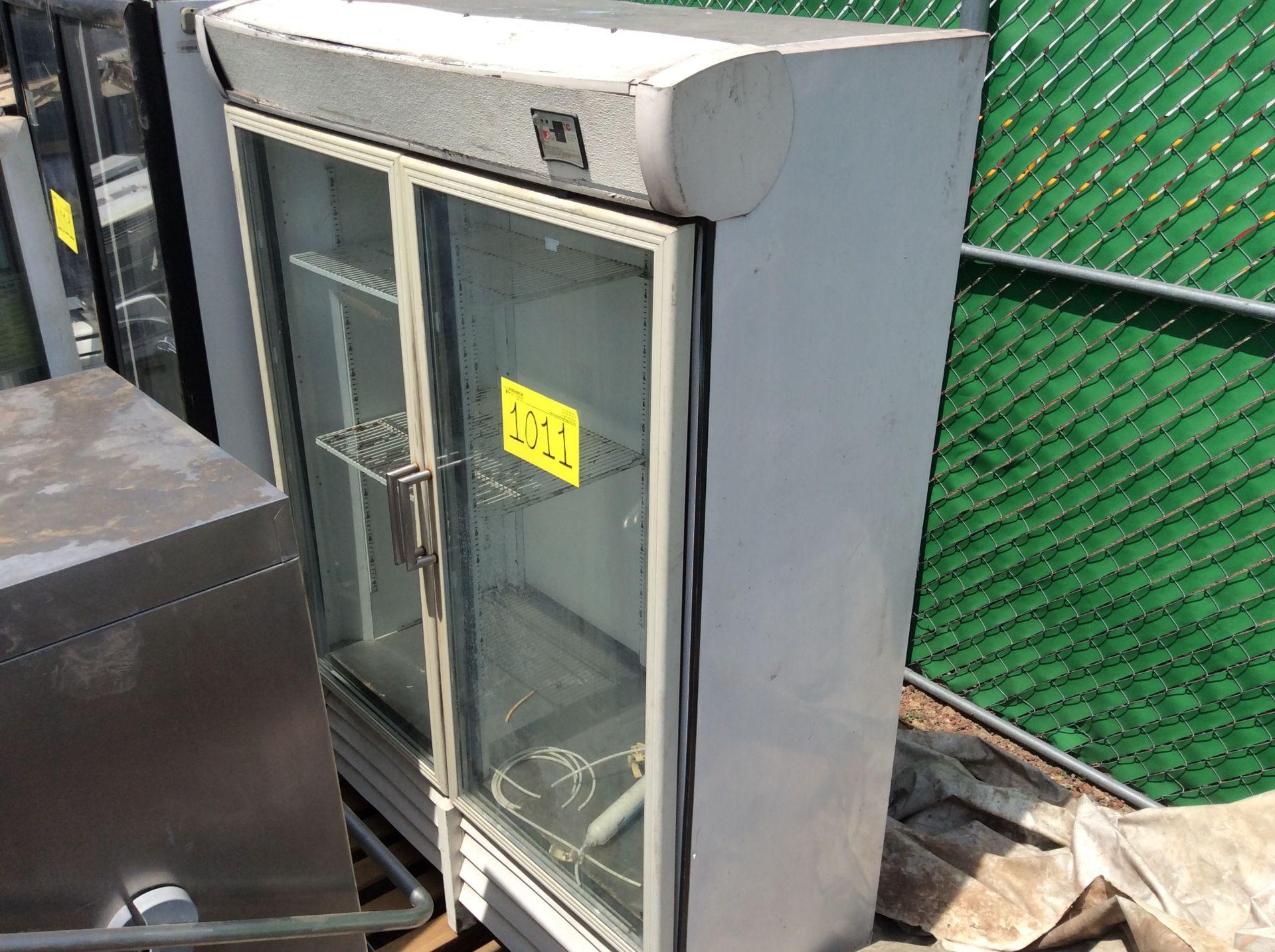 1 Ojeda refrigerator of double glass door model RV2P36 serial number 0636323-34305 120V - Image 9 of 14