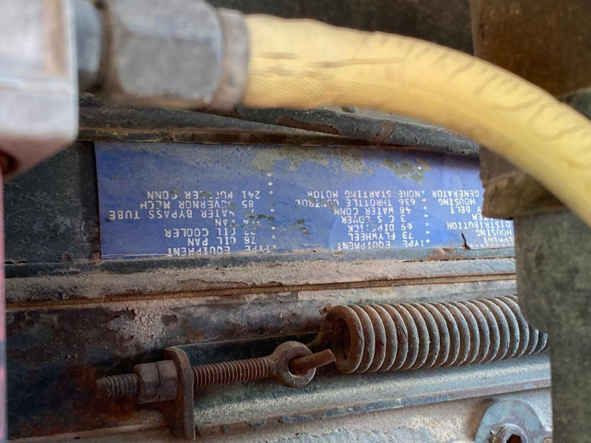 1970 Wabco4 440H Motor Grader, Serial number 440HAGM1398 - Image 72 of 77