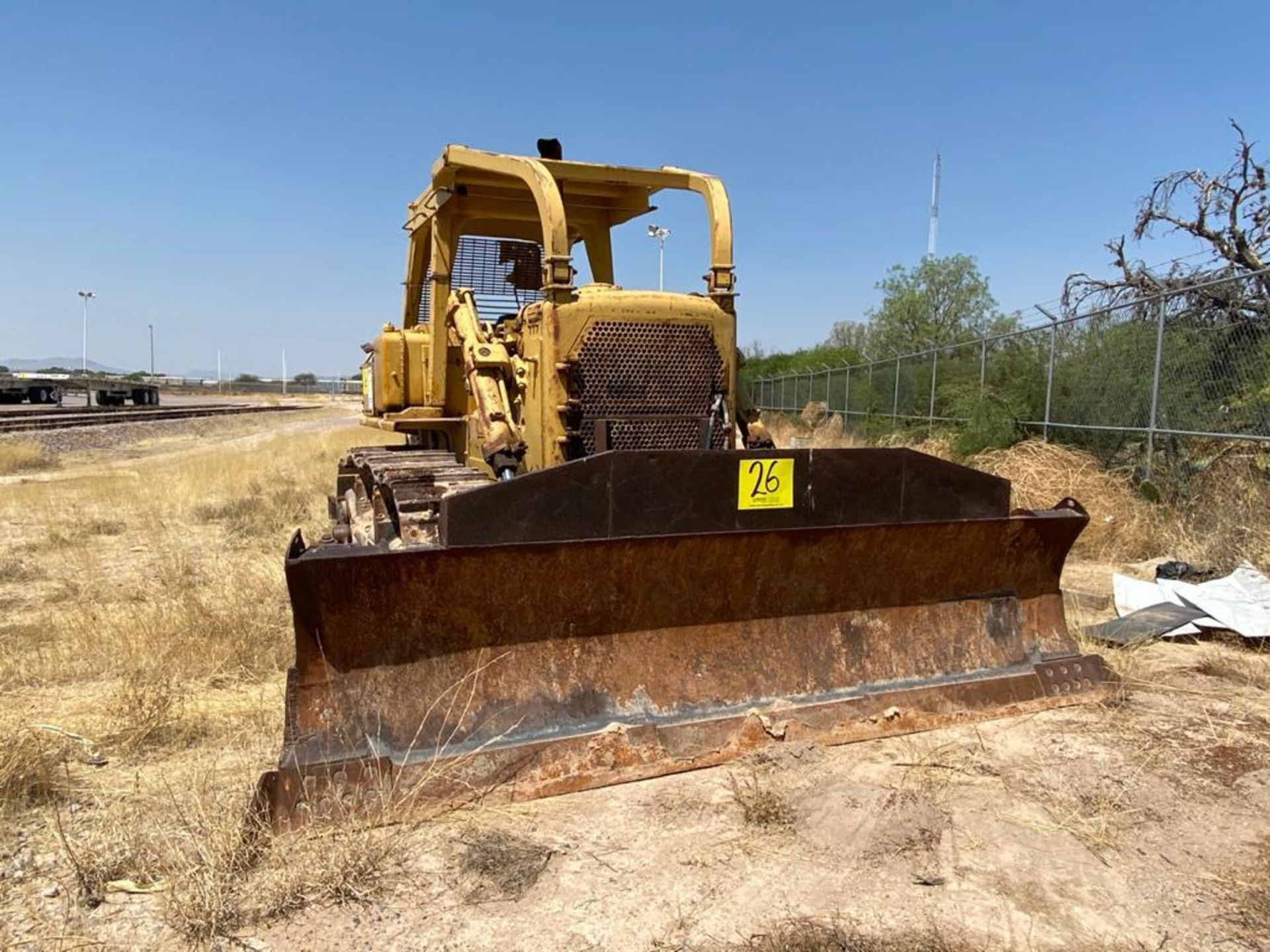Caterpillar D7G Bulldozer, Serial number 92V5897, Diesel motor - Image 3 of 48