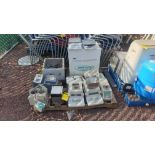 Lot of material for laboratory and quality