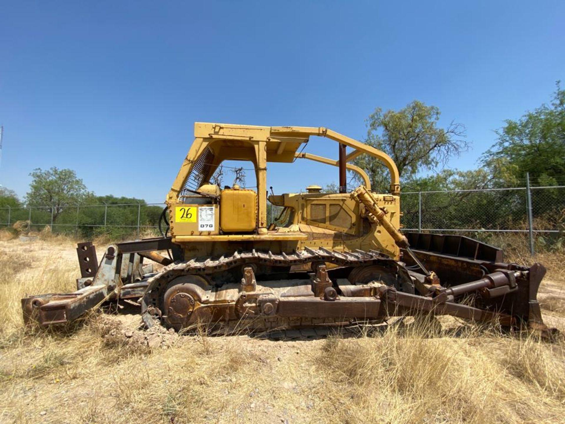 Caterpillar D7G Bulldozer, Serial number 92V5897, Diesel motor - Image 14 of 48