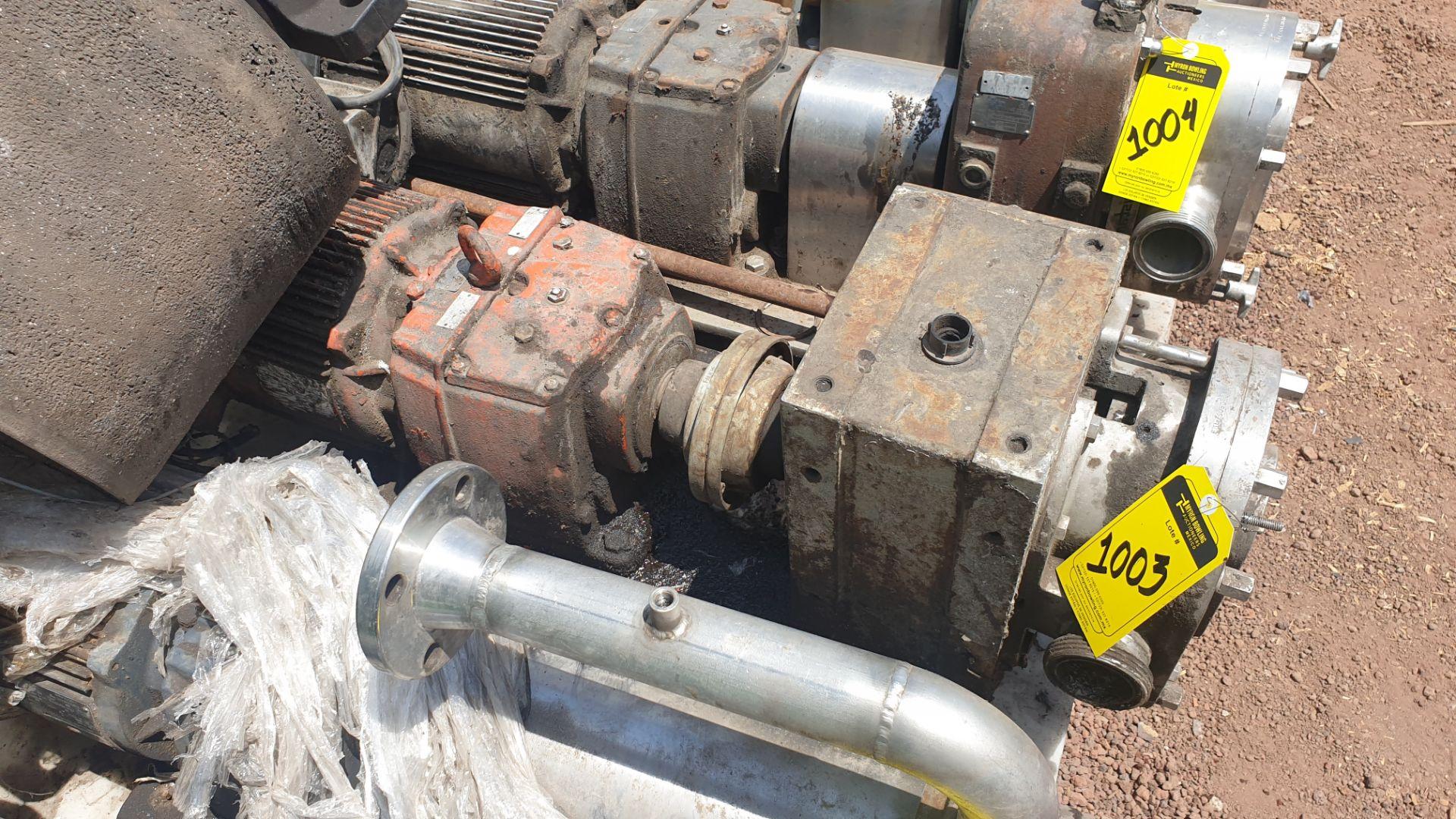 Fristam Lobe pump, includes emerson motor capacity 15HP 230v -460v - Image 4 of 6