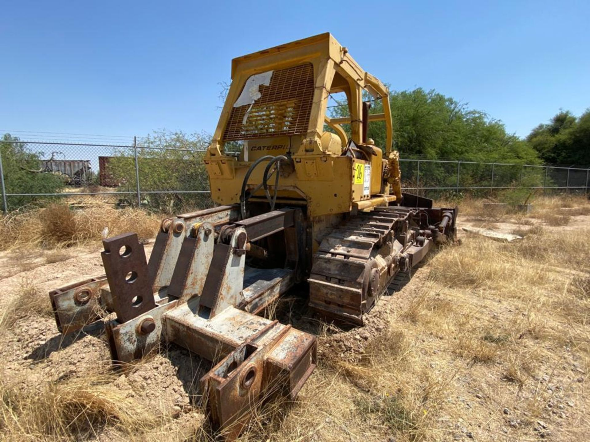 Caterpillar D7G Bulldozer, Serial number 92V5897, Diesel motor - Image 13 of 48