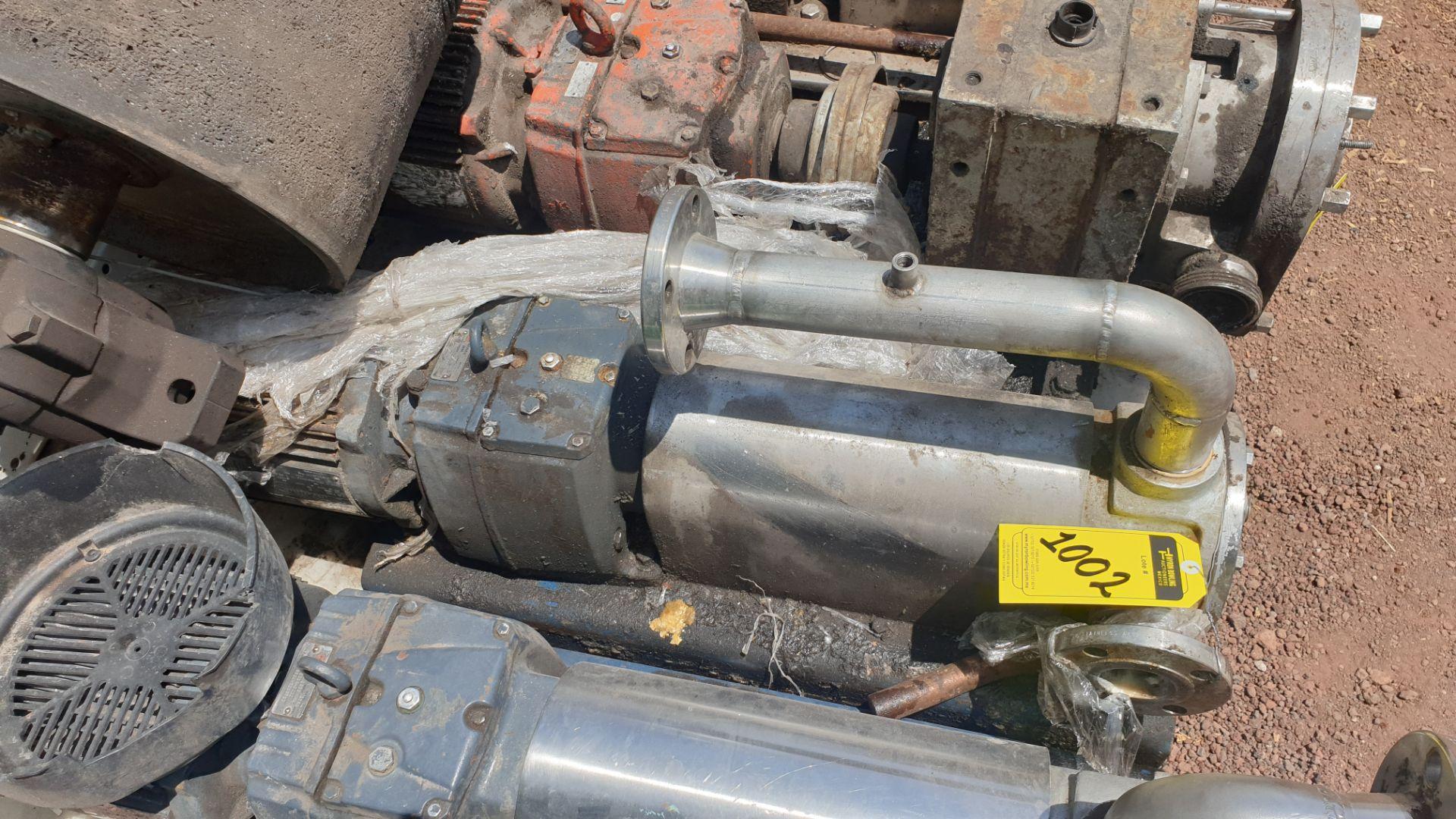 Pneumatic pump, includes emerson motor, model 684982 capacity 10Hp 230v - 460v - Image 6 of 8