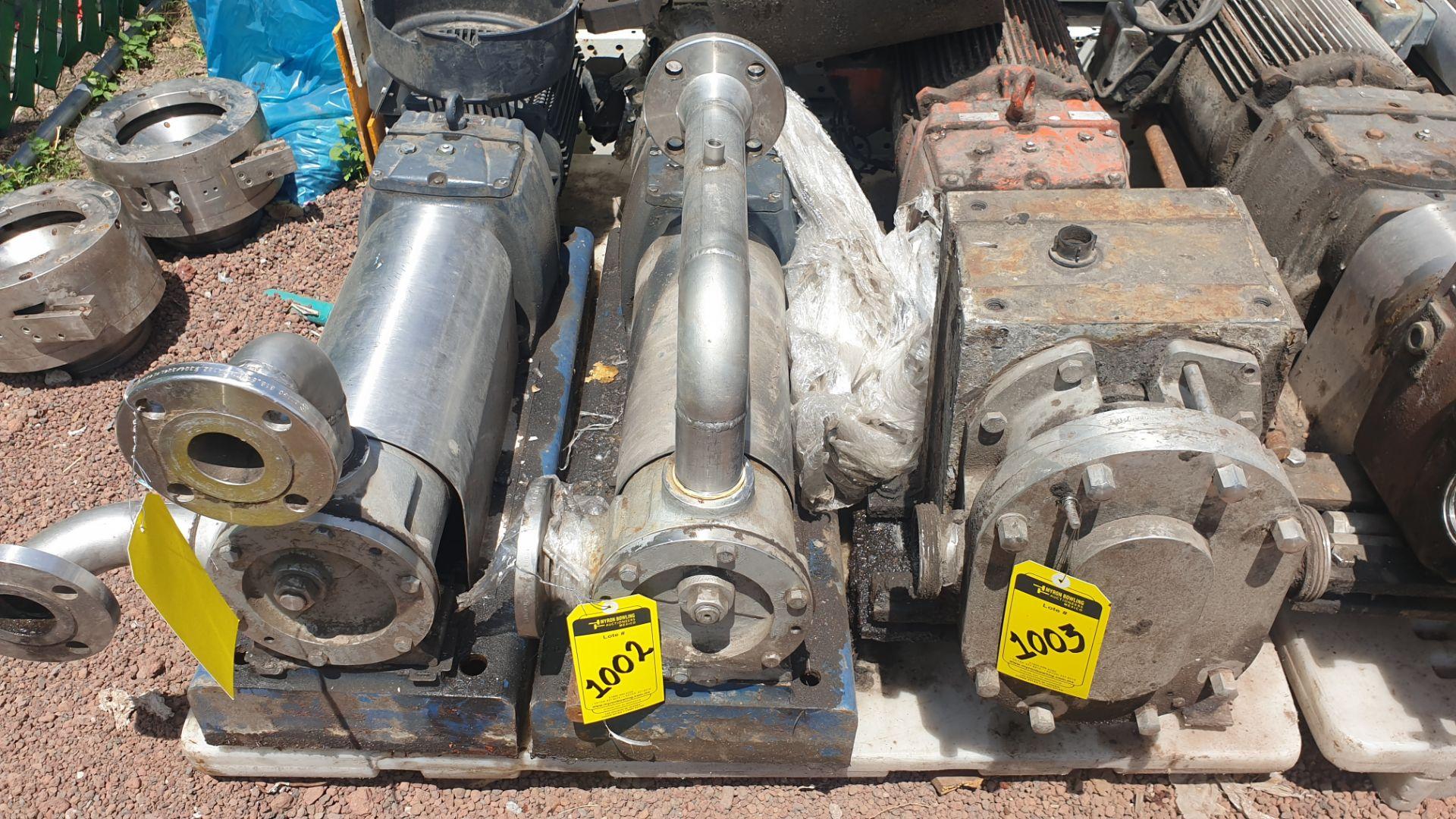 Pneumatic pump, includes emerson motor, model 684982 capacity 10Hp 230v - 460v - Image 2 of 8