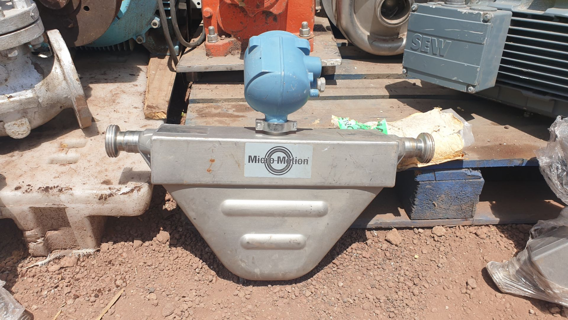 Micromotion Flow meter, model F100S230C2BMSZZZZ NS 14638390 2016 - Image 6 of 9
