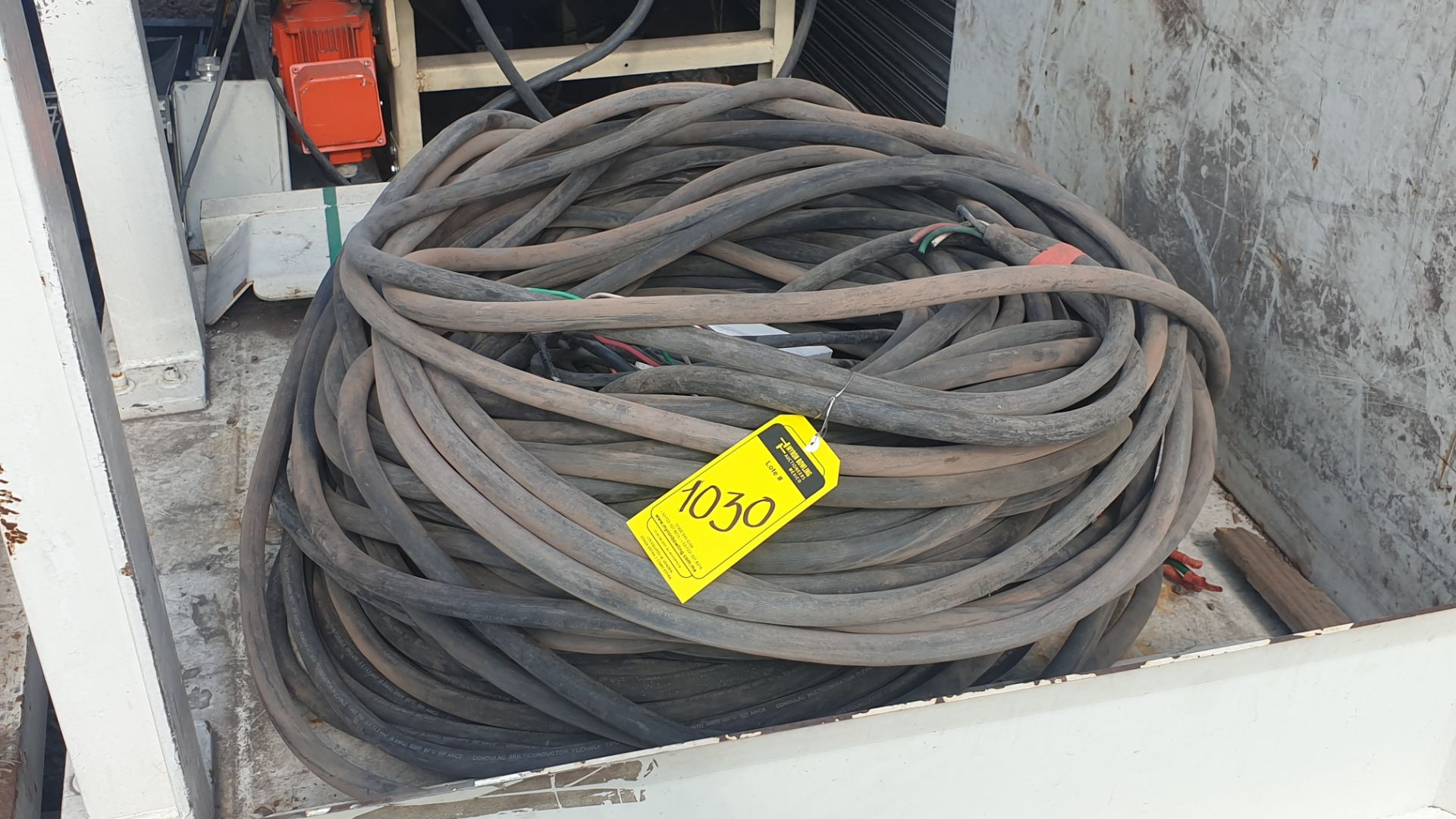Lot of cable for high tension of 3 lines different gauge 80 mts approximately - Image 5 of 6