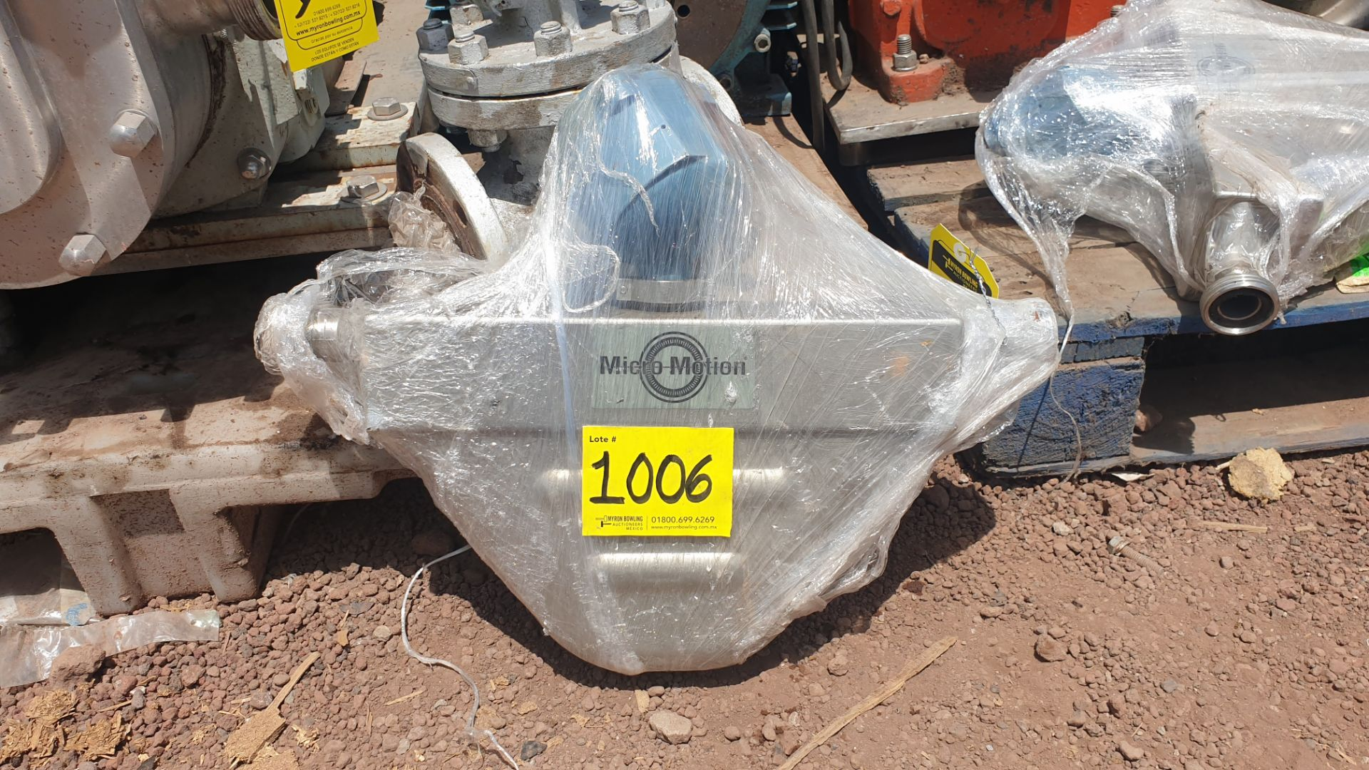 Micromotion Flow meter, model F100S230C2BMSZZZZ NS 14639520 2016 - Image 3 of 10