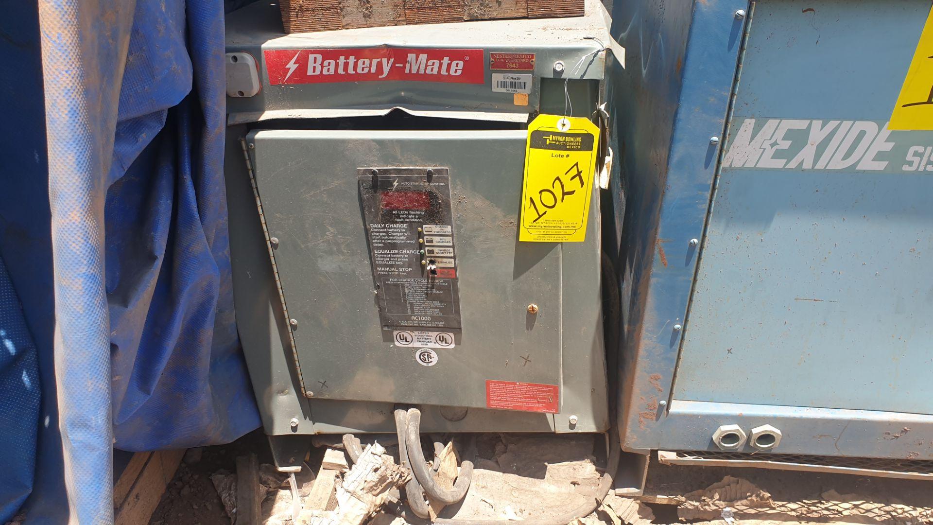 1 Battery-Mate charger, model 1050H3-18C 208/240/480V, 1 Mexide charger model CAS18.3.700 - Image 4 of 9