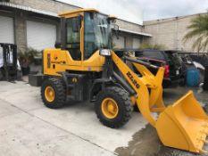 2020 Shang Ding (Wheel Loader) ZL26 Front Loader Serial number 200711437, Loading capacity 1,500 kg