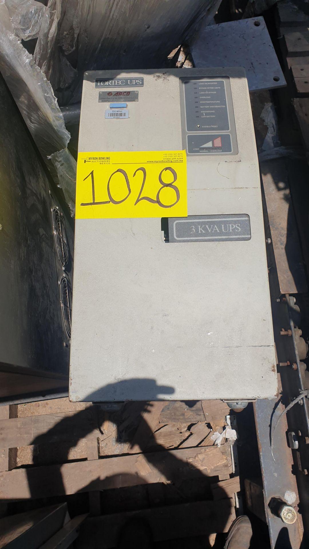 1 Ferrups Power bank system model FD10KVA 208-240V includes Lortec UPS of 3KVA - Image 2 of 11