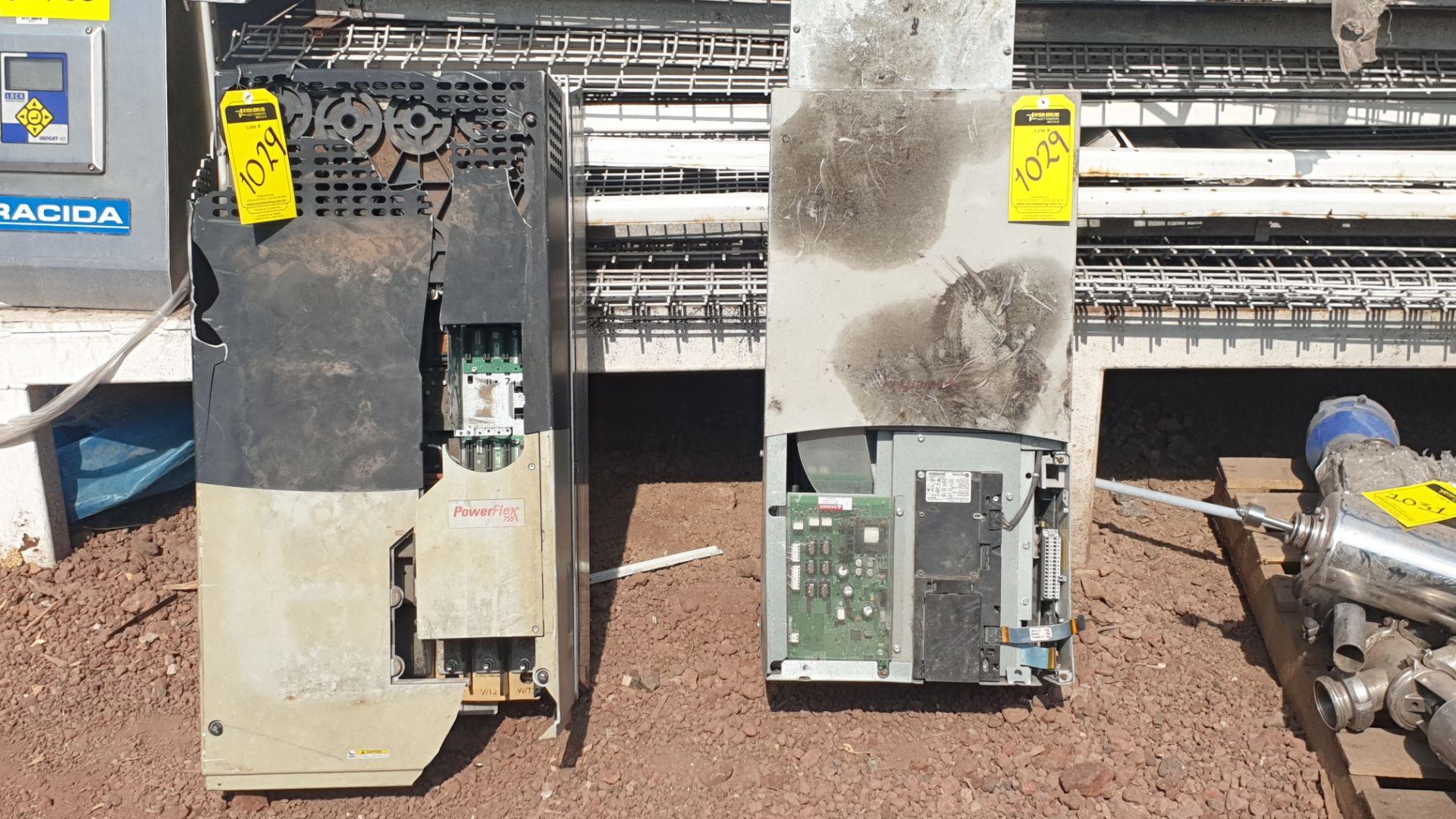 2 Powerflex Variator boards, model 20G1AN, 20BD180A0AYNANC0 - Image 3 of 13