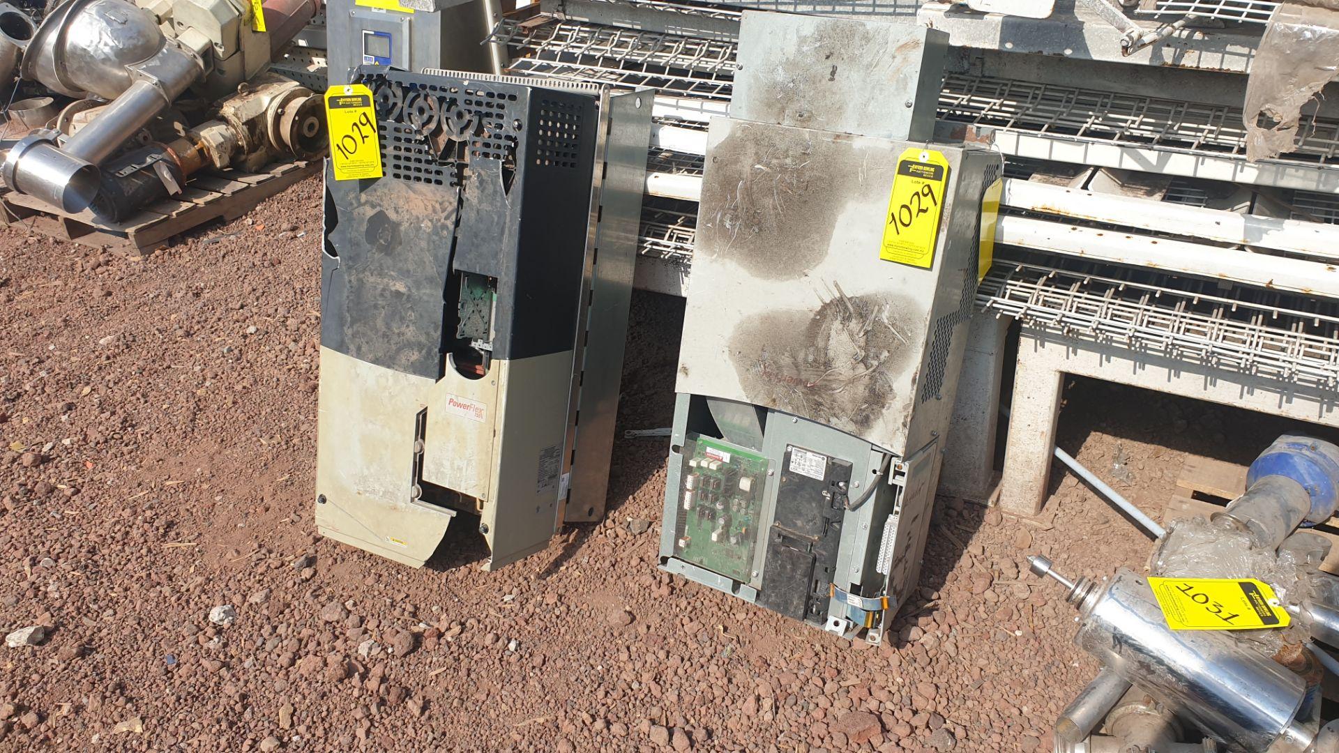 2 Powerflex Variator boards, model 20G1AN, 20BD180A0AYNANC0