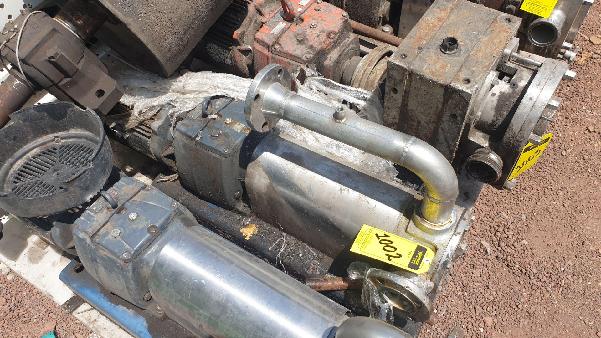 Pneumatic pump, includes emerson motor, model 684982 capacity 10Hp 230v - 460v - Image 8 of 8