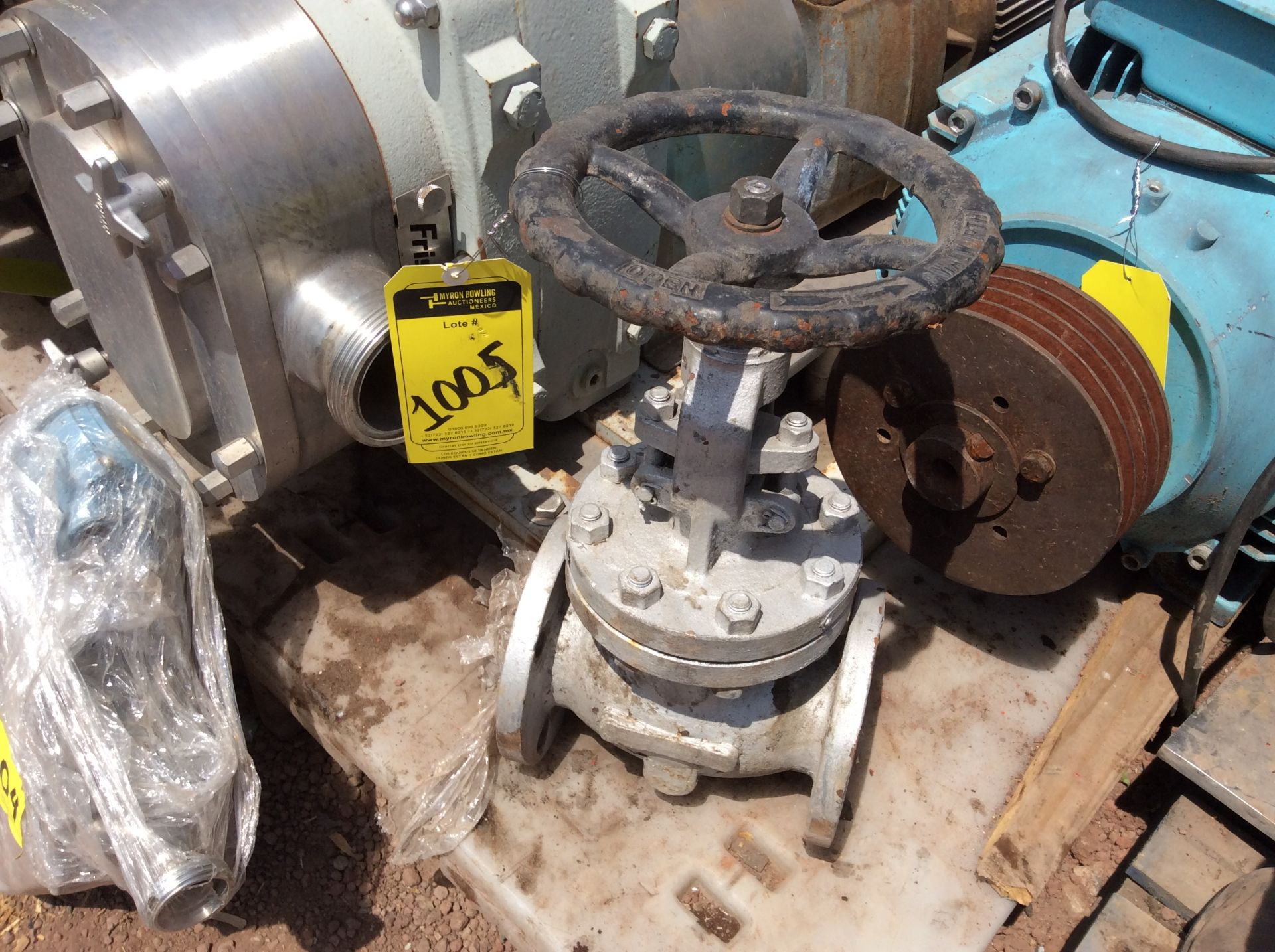3 Walworth gate valves of three inches - Image 10 of 13