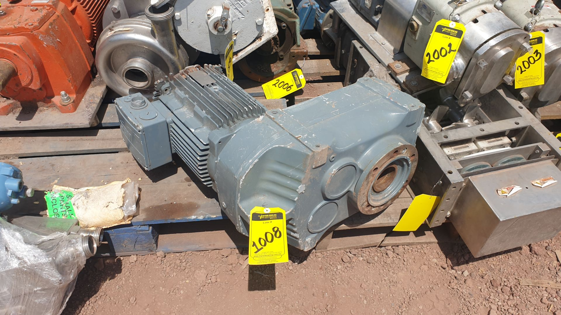 1 ABB motor without plate, 1 ABB motor model M2AA160M2 15KW - Image 6 of 15
